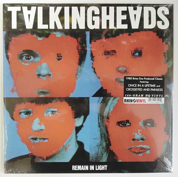Talking Heads ‎- Remain In Light