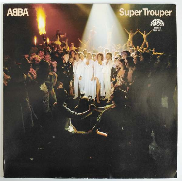 ABBA ‎- Super Trouper