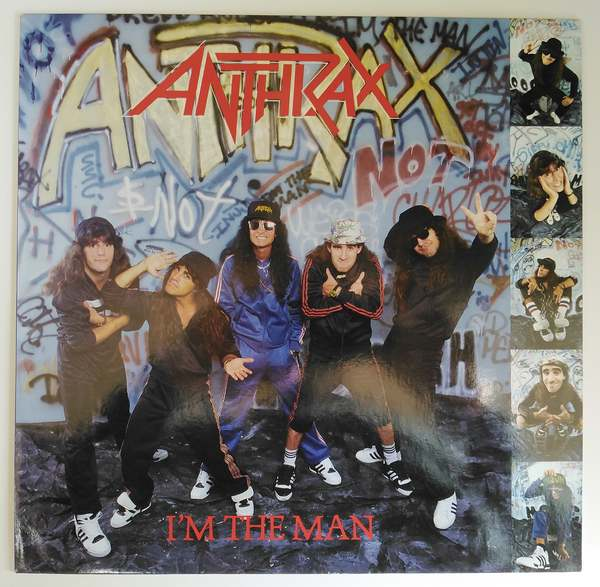 Anthrax I 180 M The Man Vinyl Shop Cz
