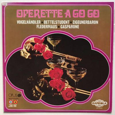 Studio Orchestra Of Dureco Records - Operette A Go Go 01