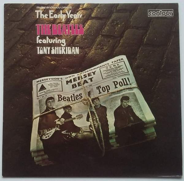 beatles featuring tony sheridan - early years 1