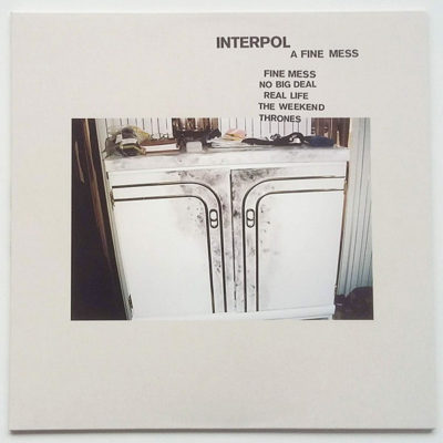 Interpol ‎- A Fine Mess