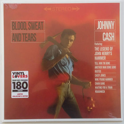 Johnny Cash ‎- Blood, Sweat And Tears