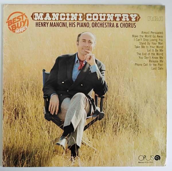 Henry Mancini, His Piano, Orchestra & Chorus - Mancini Country