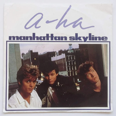a-ha ‎- Manhattan Skyline