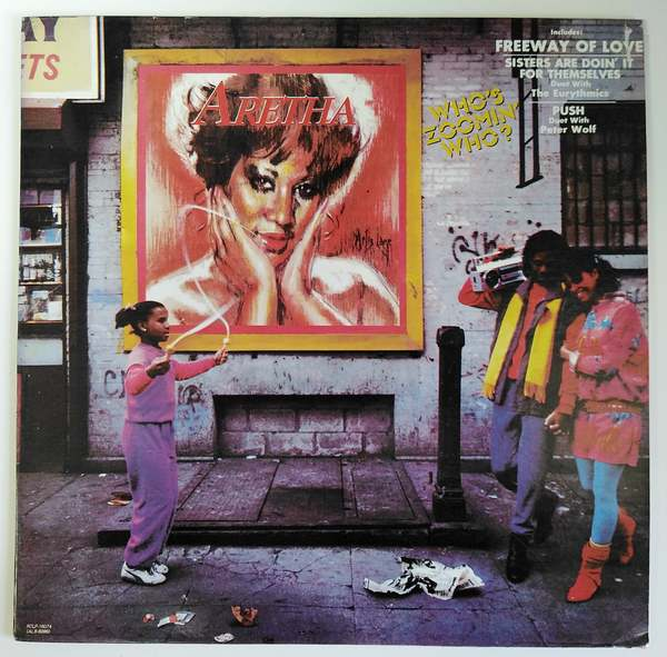 Aretha Franklin - Who´s Zoomin´Who?