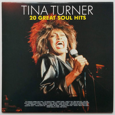 Tina Turner Featuring Ike & The Ikettes ‎- 20 Great Soul Hits