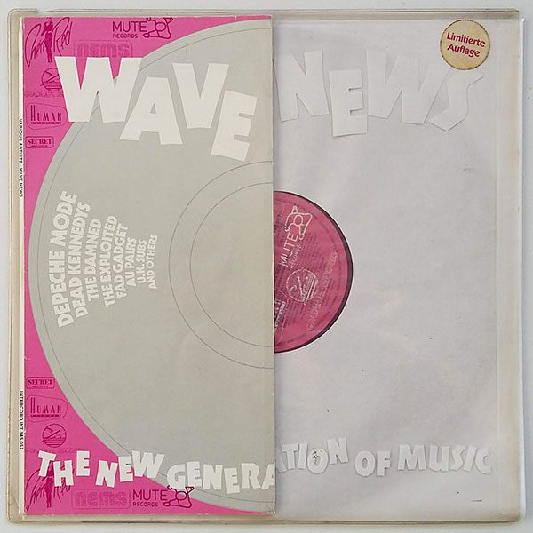 Various ‎- Wave News - The New Generation Of Music