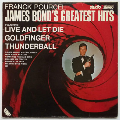 Franck Pourcel ‎- James Bond's Greatest Hits