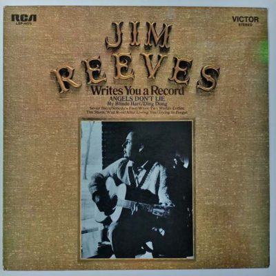 Jim Reeves - Writes You a Record