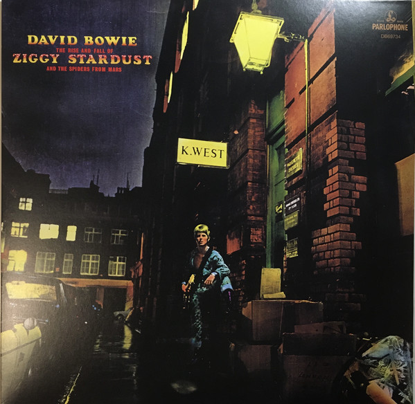 David Bowie ‎- The Rise And Fall Of Ziggy Stardust And The Spiders From Mars