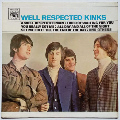 The Kinks ‎- Well Respected Kinks