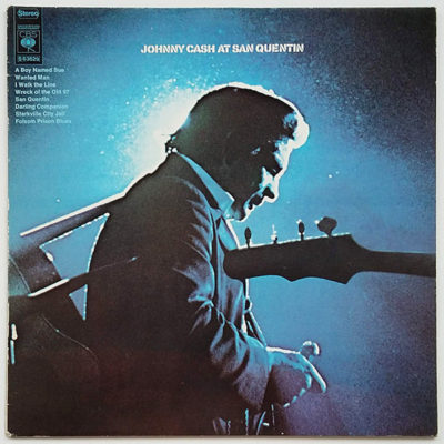 Johnny Cash ‎- Johnny Cash At San Quentin