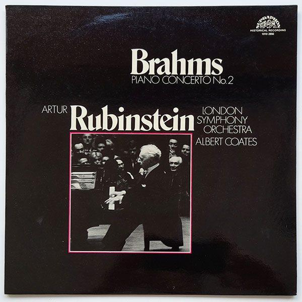 Brahms, Artur Rubinstein, London Symphony Orchestra, Albert Coates - Piano Concerto No. 2