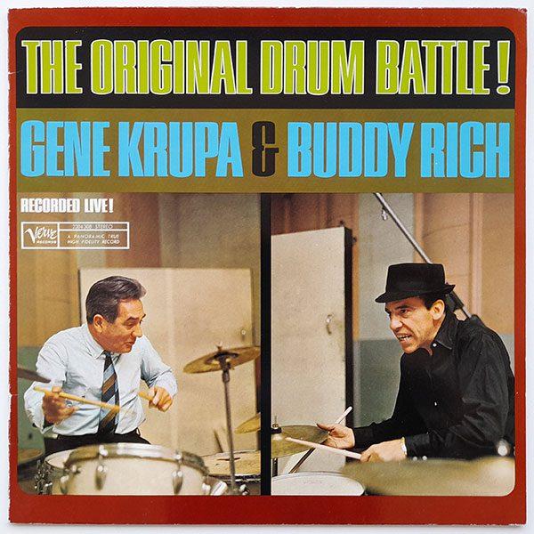 Gene Krupa and Buddy Rich - The Original Drum Battle