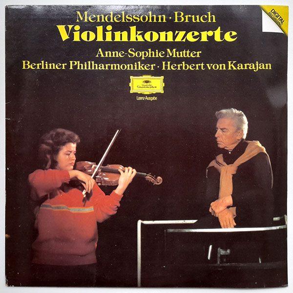 Mendelssohn, Bruch - Anne-Sophie Mutter, Berliner Philharmoniker, Herbert von Karajan - Violinkonzerte