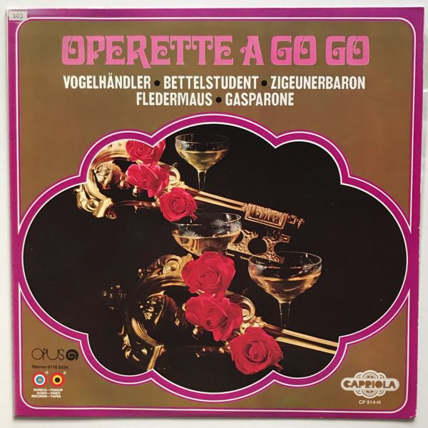 Studio Orchestra Of Dureco Records - Operette A Go Go 01