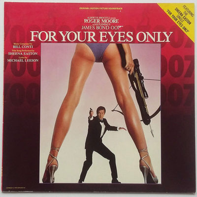 Bill Conti ‎- For Your Eyes Only (Original Motion Picture Soundtrack)
